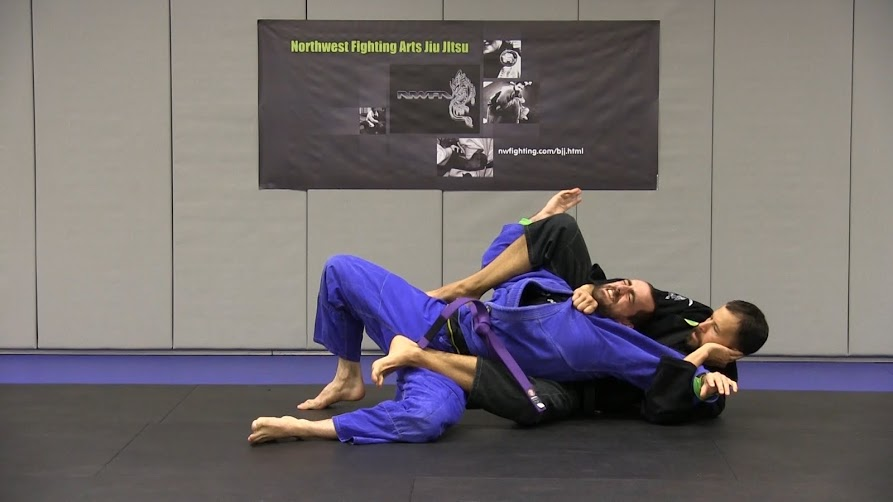 bjj school in portland  Mount position