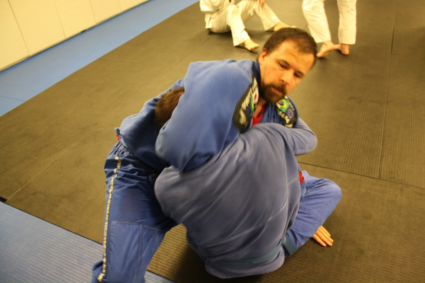 yielding in jiu jitsu