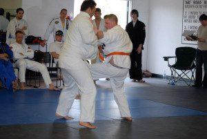 Jiu jitsu fitness training