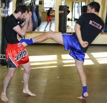 Muay Thai improve flexibility
