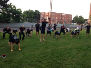MMA classes outdoors