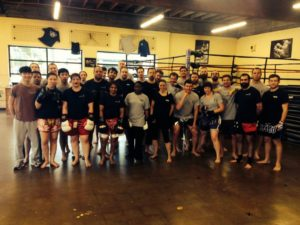 thai group injuries in muay thai